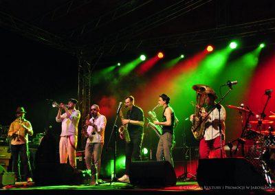 Występ zespołu Tziganc Fanfara Awantura