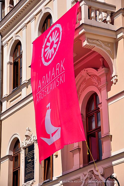 Flaga jarmarku jarosławskiego