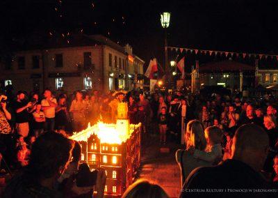 Pokaz tradycyjnego wypalania
